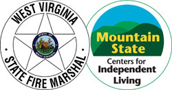 combined WV Fire Marshal and MTSTCIL logo